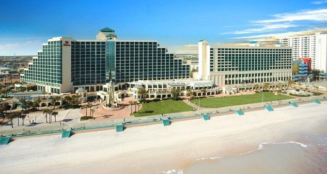 The Hilton Daytona Beach Resort/Ocean Walk Village is Daytona's premier resort located directly on the beach. .